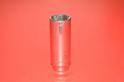 "MATCO Tools 3/8"" Drive Metric 19mm Deep Well 6 Point Chrome Socket BD19M6"