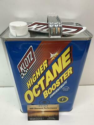 Klotz Octane Fuel Booster System Cleaner Increase Hp 1 Gallon Kl-628  842-0134