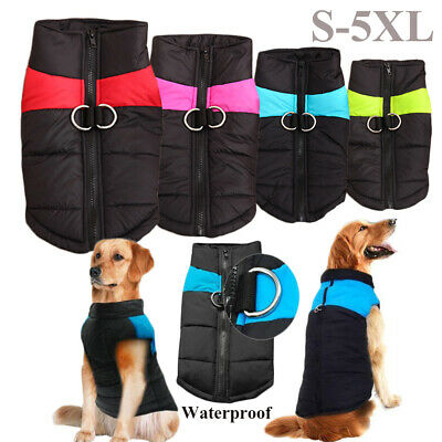 Multifunctional Puppy Wadded Jacket Dog Vest Pet Warm Coat Thickened Clothes