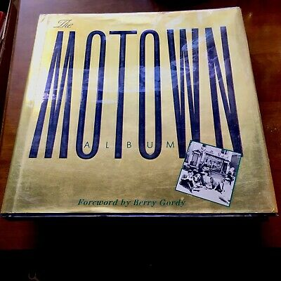 The Motown Album, SIGNED by The Temptations' Melvin Franklin and Cholly Atkins
