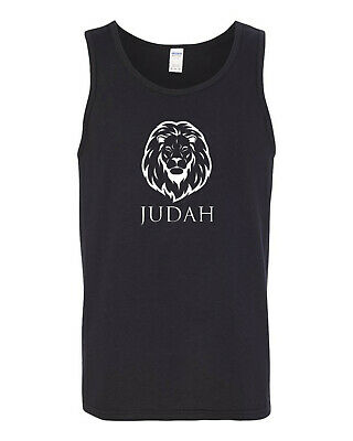 Hebrew Israelite Lion Of Judah Tribe Gildan Mens Tank Top T-shirt