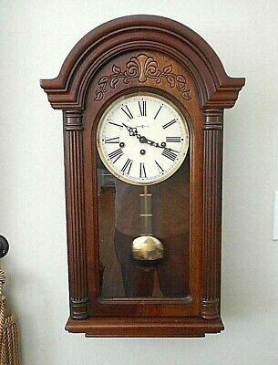 Howard Miller Highgrove German Key Wound Westminster Chime Wall Clock 613-106