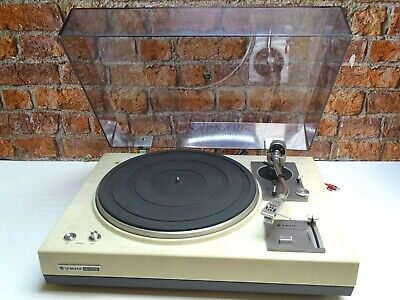 Trio KD-2055 Vintage 2 Speed Belt Drive Vinyl Turntable Record Player Deck