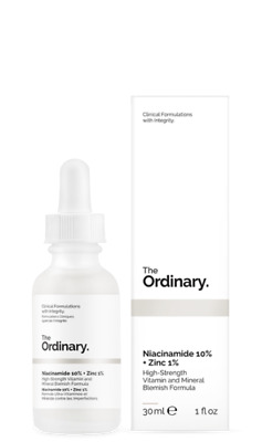THE ORDINARY Niacinamide 10% + Zinc 1% 30ml High-Strength Vitamin Mineral Fast!