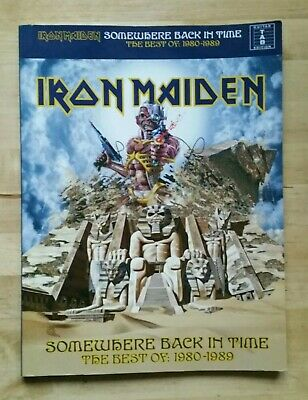 Iron Maiden Somewhere Back In Time Best Of - Song Book - Guitar - Wise