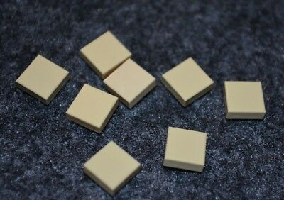 6 NEW Lego Parts 2x2 Tan Sand Round Smooth Finishing Tile