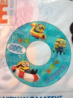 Despicable Me Swim  Ring Swimming Arm Bands Disney Store Minions  DVD