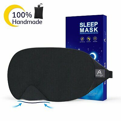 NIB! MAVOGEL Cotton Sleep Eye Mask 2018 New Design Light Blocking Sleep Mask Gel