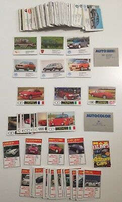 Lote cromos Auto 2000, Autocolor, Max Trumps Features Cars