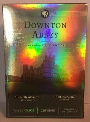 Downton Abbey - The Complete Collection (22-DVD Box Set, 2016) New, Free Ship