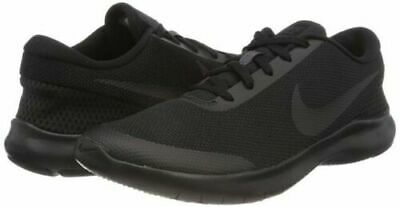 the latest 12a5a d6295 Nike Flex Experience RN 7 WIDE 4E Men s Running Shoes Triple Black AA7405  002