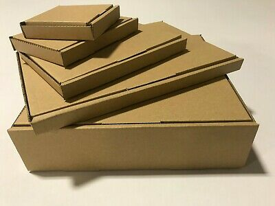A4 A5 Postal Boxes Large Letter PIP Single Wall Cardboard Royal Mail Postage