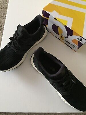 cad954a3dd1 ADIDAS UltraBoost Ultra Boost 4.0 Men s Size 12 Black White Running Shoes  BB6166