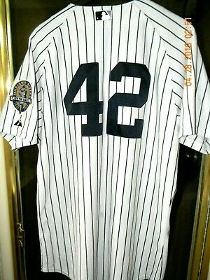 5a317feea New York Yankees MARIANO RIVERA 2013 Retirement Patch Home White Baseball  Jersey