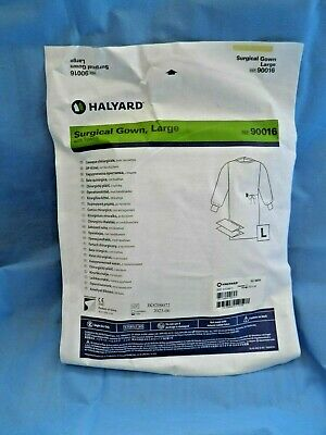 Surgical Gown Kit Disposable Large with towels Doctor Surgeon ref: 90016 Halyard