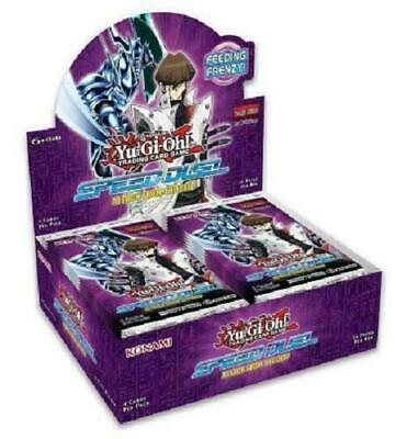 Yugioh Attack From The Deep Speed Duel Booster Box Case PRESALE
