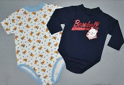 Disney Winnie The Pooh Baby Boys Size 12 & 24 Months Shirts Baseball Lot of 2