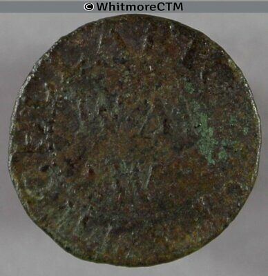 17th Century Token Clacton Much Clafton 242 1664  William Munt /  M / W M