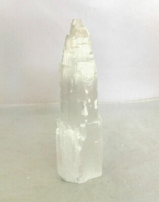Large Selenite Tower Standing Calcite Natural Crystal Reiki Chakra Minerals 20cm