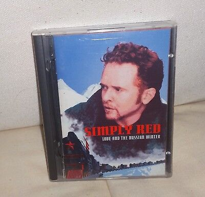 SIMPLY RED, LOVE AND THE RUSSIAN WINTER, Original, Minidisc, Music,