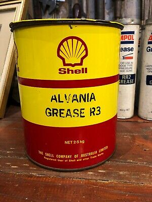 SHELL ALVANIA 2 5KG Grease Vintage