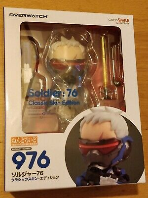 Blizzard Overwatch Soldier 76 Classic Skin Edition Nendoroid Figure - New Sealed