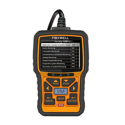 FOXWELL NT301 CAN OBDII EOBD Car Engine Diagnostic Scan Tool OBD2 Code Reader