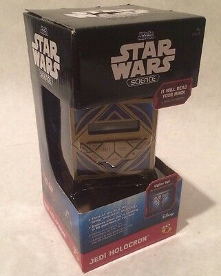 Star Wars Science Jedi Holocron Brand New 20Q
