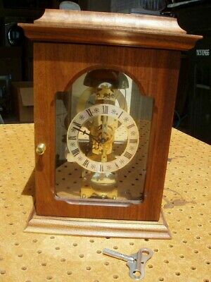 Franz Hermle Mantle Clock 791-681 Movement 0 Jewels Germany 14 Day Exc Cond