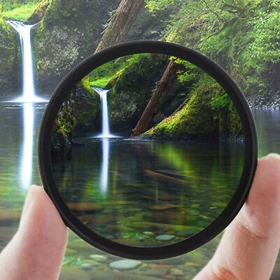 Slim CPL Circular Polarizing HD Polarizer Filter 49 52 55 58 62 67 72 77mm