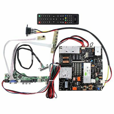 "For 42"" LC420EUN 1920x1080 LCD Screen Power Board HDMI VGA AV USB RF Board"