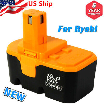 NEW For Ryobi 18V ONE+ Plus P100 P101 Nicad Battery Replace P103 ABP1801 ABP1803