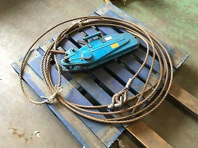 Tirfor Winch 3000kg with cable FREE DELIVERY