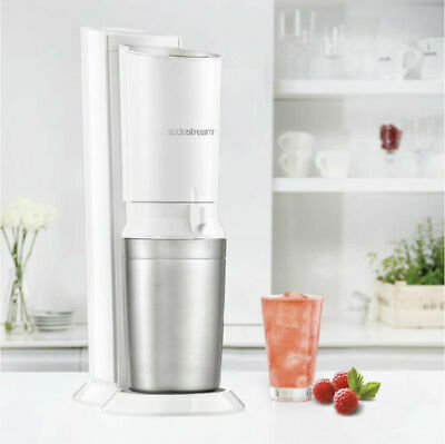 Sodastream Crystal without cylinder C02 + 4 concentrates for free