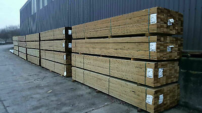 A GRADE FSC certified TREATED DECKING BOARDS 32x125mm (3 lengths)TIMBER DECKING