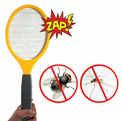 Electric Zapper Bug Bat Fly Mosquito Insect Killer Trap Swat Swatter Racket 1Pcs