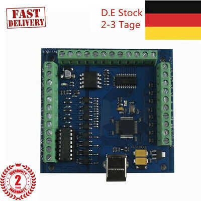 MACH3 4-Axis USB CNC Card Smooth Stepper Motion Controller for CNC Engraving DE