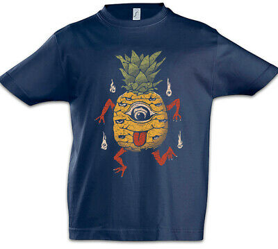 PPAP PEN PINEAPPLE APPLE PEN STARDUST ETHICAL KIDS CHILDRENS T-SHIRT BLUE