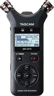 Tascam Dr-07x - Digital Recorder Handheld with Interface USB New Warranty