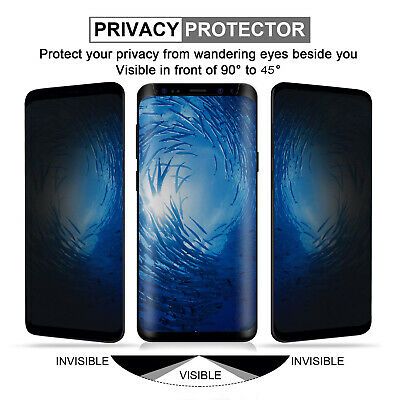 Anti-Spy Privacy Screen Protector Tempered For Samsung Galaxy S10 Plus S9 S10 5G