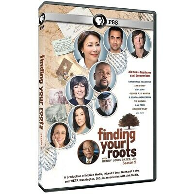 Finding Your Roots - Season 5 (DVD, 2019, 3-Disc Set) PBS, Brand New