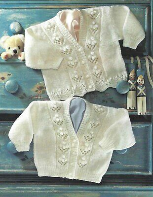 Boys Hearts Blue /& White Boys Baby Blanket Knitting Pattern 61x76cm//24x30/""
