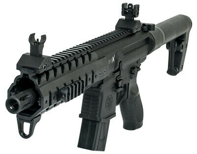 SIG SAUER MPX ASP Air Rifle with 30-Round Pellet Magazine in