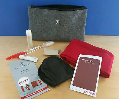 SWISS Int. Airlines Business Class amenity kit from Victorinox, NEW