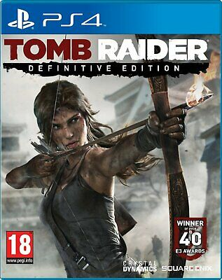 PS4 PlayStation 4 Tomb Raider Definitive Edition Brand New Sealed Game