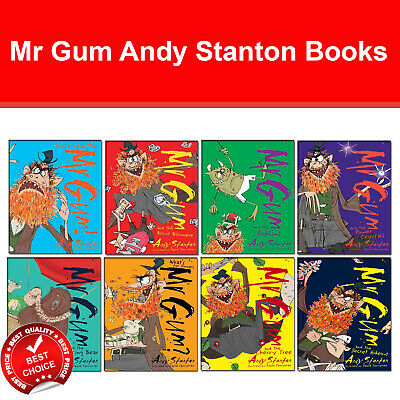 Mr Gum The Complete Collection Andy Stanton Book Pack Set Fiction Tom Fletcher