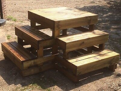 Equestrian Wooden Mounting Blocks For Horseriders