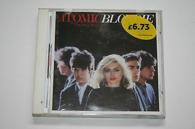 "Blondie ""Atomic The Very Best Of"" CD 1998 Like New Condition Played"