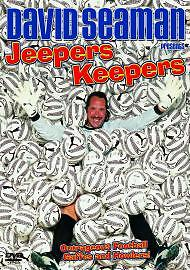 David Seaman - Jeepers Keepers DVD. New/sealed.