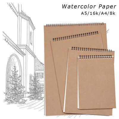 Stationery Watercolor Paper Sketchbooks Graffiti Sketch Painting Notebook